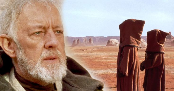 Alec Guinness Pulled a Hilarious Star Wars Prank on a Trash-Talking Jawa -- Mark Hamill recruited Sir Alec Guinness to get back at a big mouthed extra on the set of the original Star Wars. -- http://movieweb.com/star-wars-practical-joke-alec-guinness-mark-hamill-jawas-actor/