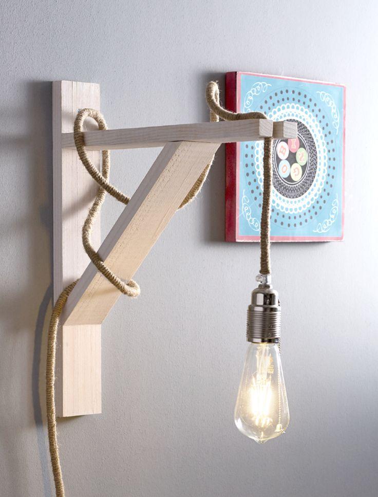 ¿Qué tal este fácil proyecto para tu casa? #Hogar #Espacios #Iluminación #Lámparas #TiendaEasy