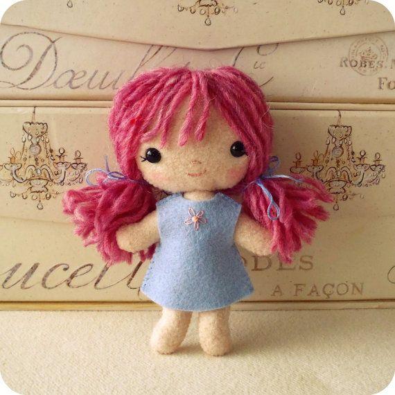 Doll pdf Pattern, Doll Pattern, Plush Doll, Easy Pattern via Etsy