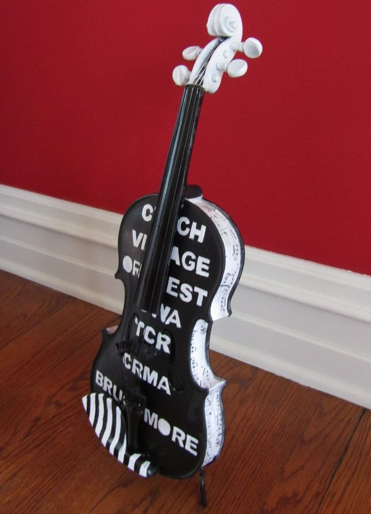 1000 Images About Musical Crafts On Pinterest Recycled