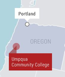 OCTOBER 1, 2015; OREGON COLLEGE: Witness says gunman told people to state their religion before opening fire, killing nine; gunman also dead.