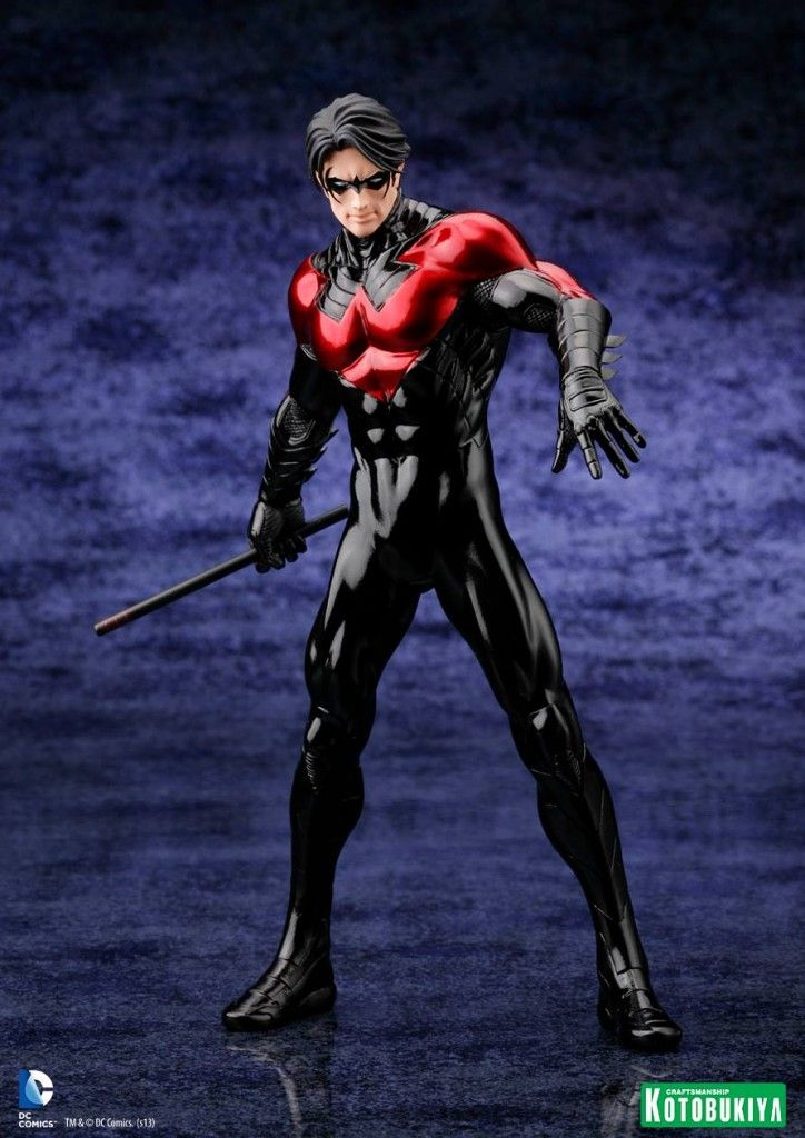 WANT!!! #Nightwing New 52 from #Kotobukiya - to be released in April 2014