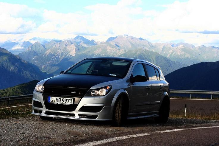 my Opel Astra H