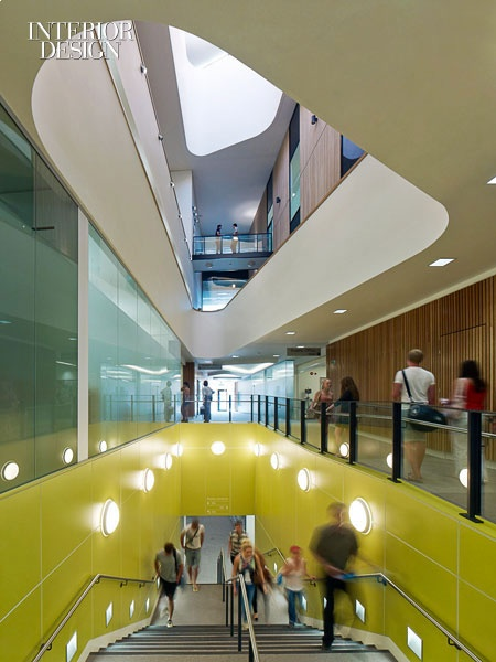 NBBJ for The Life Sciences Building at the University of Southampton, UK