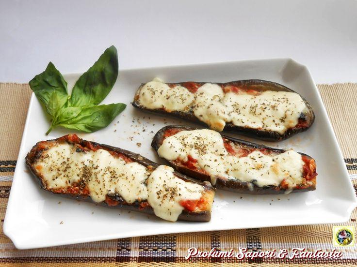 Melanzane+con+pomodoro+basilico+e+mozzarella