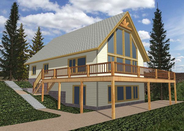 House Plan chp-28276 at COOLhouseplans.com | midway20