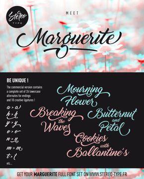 Marguerite - Dafont.com FREE