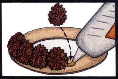 Ghirlande di Natale fai da te con le pigne - Donnaclick