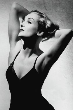 Carole Lombard photographed by George Hurrell, 1937