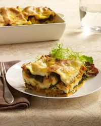 Pumpkin Lasagna with Ricotta and Swiss Chard // More Tasty Lasagnas: http://www.foodandwine.com/slideshows/lasagna-recipes #foodandwine