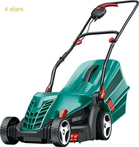 (Rating: 4 stars) Bosch Rotak 34 R Electric Rotary Lawn Mower Cutting Width 34 cm Bosch Rotak Electric Rotary Cutting is rated as one of the best products in Home Garden  category. Click below to see its Availability and Price in your country.