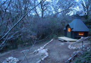 Hobbit Hut in Cornwall