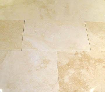 Miss the travertine floors in my old master bathroom