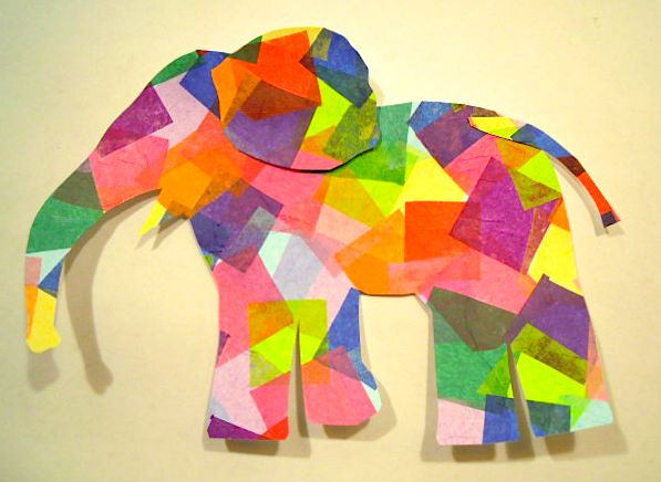Preschool Crafts Elephant : Preschool Letter E Elephant Craft