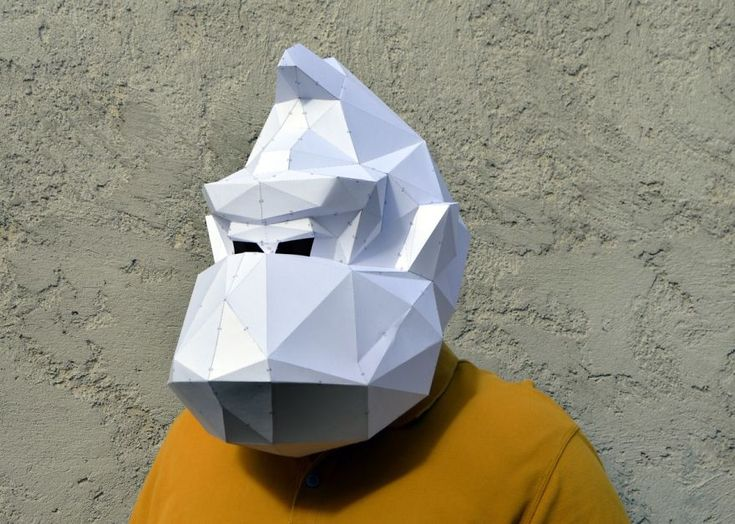 Make Your Own Geometric Animal Mask