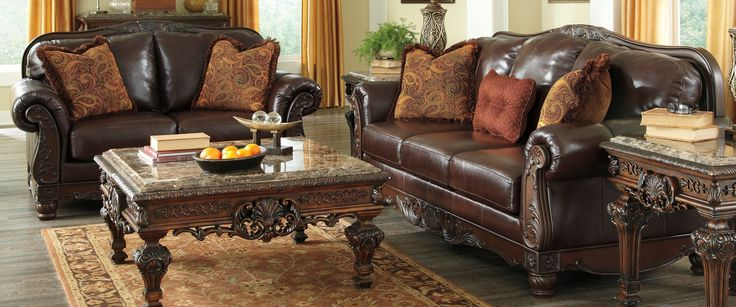 Buy Ashley Furniture 2310038 2310035 Set North Shore Plus