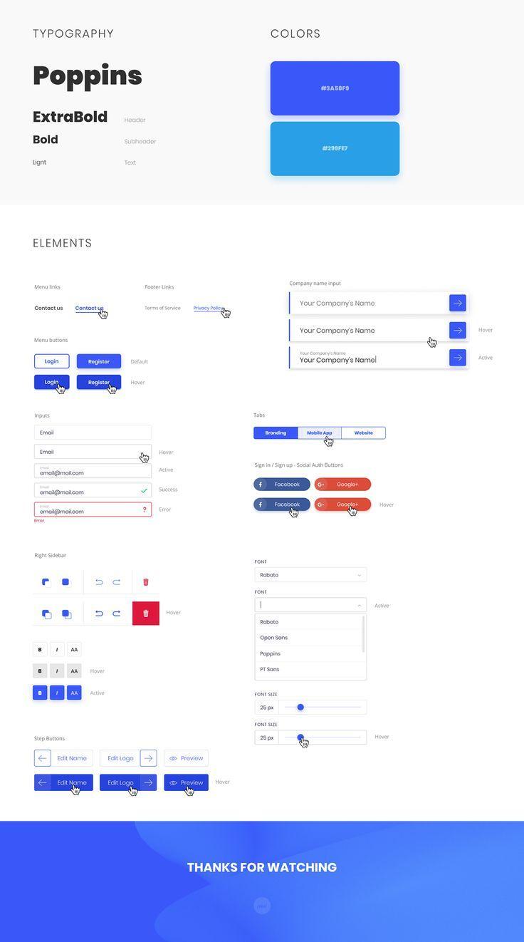 Logosos Quick Logo Generator On Behance Style Guide Design Web Design Quotes Web Design