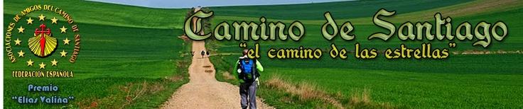 El Camino de Santiago - Pagina inicial del sitio Web de la Federación Española. El Camino de Santiago Passes through Logroño as well as La Rioja.