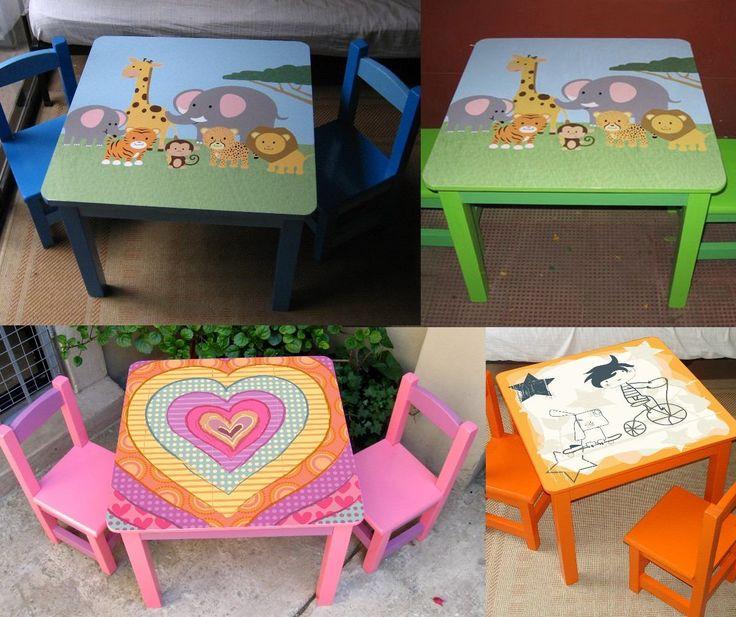 134 mejores im genes de mesas infantiles en pinterest - Mesa escritorio infantil ...