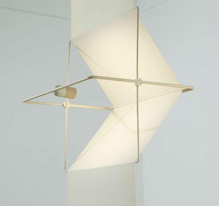 "Rare ""Quinta"" lamp and room divider by Silvio Coppola, Artemide, Italy, 1970s image 5"