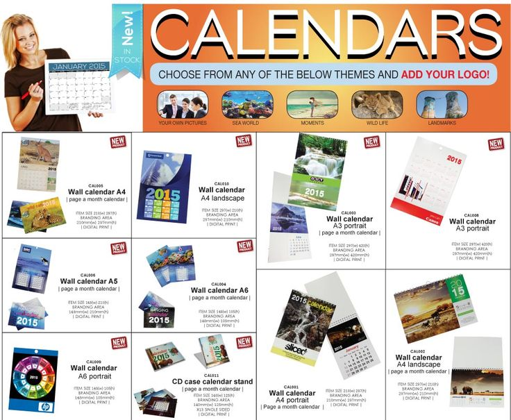 Choose a theme from one of these for your 2015 calendar and Bob's Your Uncle - we'll add your branding and go to print. 2015 Year Calendar - great as gifts and for the staff at their desks. Remember calendars have value - i.e. they are useful! They also generate a sense of solidarity with your clients and staff.