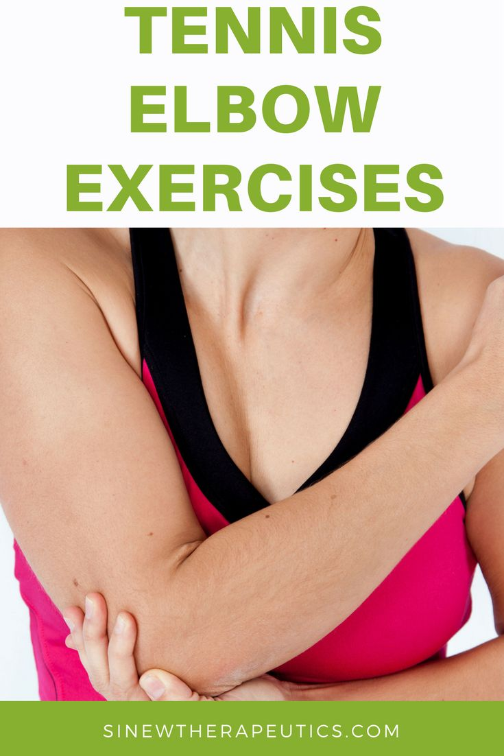 Tennis Elbow Quick Recovery