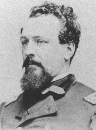 James Gwyn (November 24, 1828 - July 17, 1906) was an officer in the Union Army during the American Civil War. He immigrated at a young age from Ireland in 1846. At the onset of the war, in 1861, he enlisted & was commissioned as a captain with the 23rd Pennsylvania Volunteer Infantry. He assumed command of the 118th Pennsylvania Regiment in the course of the war. Gwyn led that regiment through many of its 39 recorded battles, including engagements at, Fredericksburg & Gettysburg.