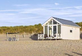 Aufwachen am Strand von Den Haag in Holland? Jetzt können Sie ein Strandhaus mieten!
