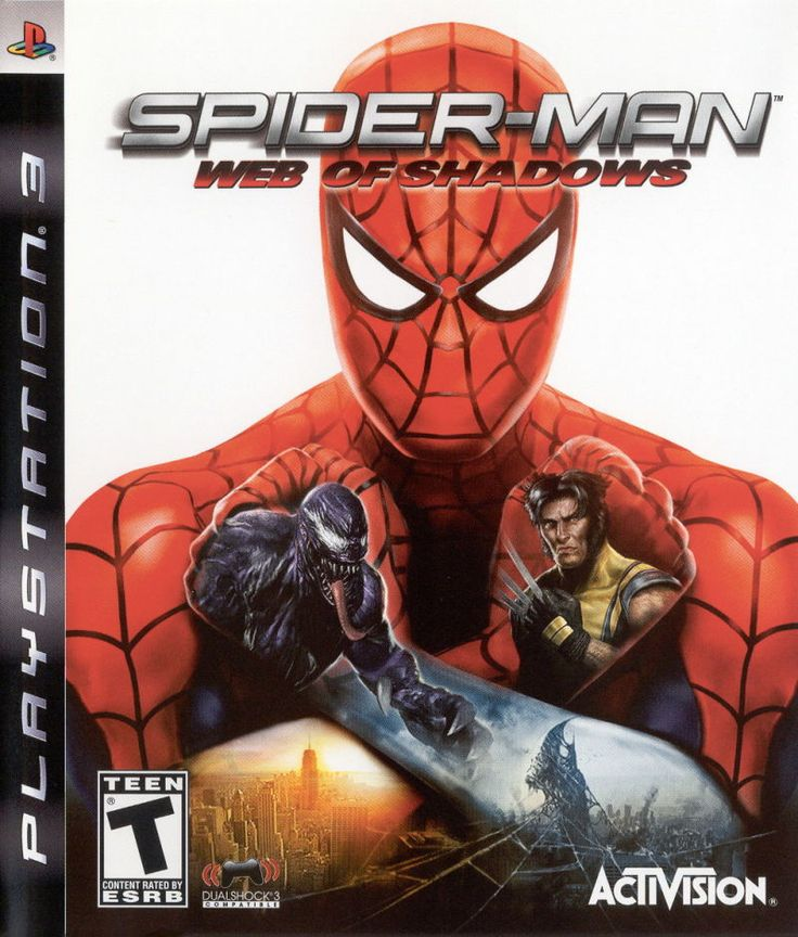Spider-Man: Web of Shadows (PlayStation 3) submit information about this game, covers, screenshots, tech-info, release dates and more