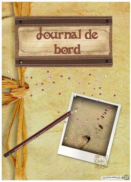 Journal de bord, cahier, enseignant