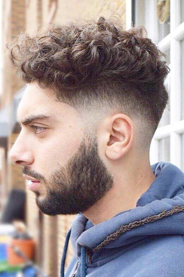 Fresh And Trendy Curly Undercut Ideas For Men Menshaircuts Com Curly Undercut Short Hair Undercut Undercut Hairstyles