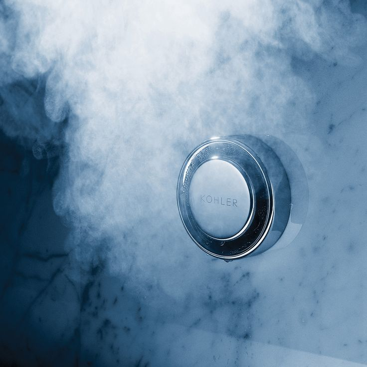 Kohler Fast-Response steam generator control kit: Bring the soothing comfort of a private steam shower to your bathroom. Customize your showering experience and enjoy the purifying benefits of steam at home—ready in 60 seconds. Includes digital control panel with adjustable temperature and session settings, plus thermostatic steam head with an integral reservoir for adding your favorite scents.