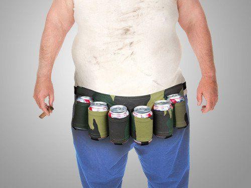 Las cosas más inútiles de Amazon Cinturón portacervezas