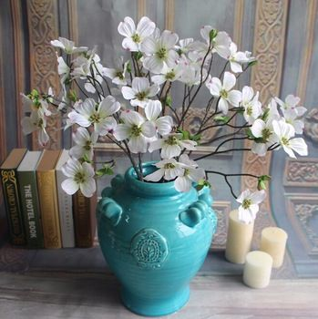 16 best artificial flowers dogwood images on pinterest gnw fl dw10 5cm wholesale high similation white silk artificial dogwood flowers mightylinksfo Image collections