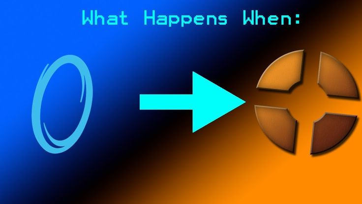What Happens When: Portal 1 Mounted onto Team Fortress 2 #games #teamfortress2 #steam #tf2 #SteamNewRelease #gaming #Valve