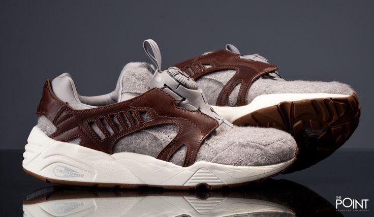 Zapatillas Puma Disc Blaze Felt Gris Marrón, llega a la #tiendaonline de #sneakers #ThePoint la nueva versión del modelo de #zapatillasPumaDiscBlaze llamado por la #marcaPuma como #Felt, en esta ocasión viene en un colorway gris y cuero muy acertado de cara a este #OtoñoInvierno2015, http://www.thepoint.es/es/puma/1327-zapatillas-hombre-puma-disc-blaze-felt-gris-marron.html