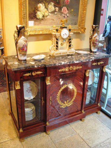 mobilier buffet salle manger en acajou de cuba de style empire cours pinterest. Black Bedroom Furniture Sets. Home Design Ideas
