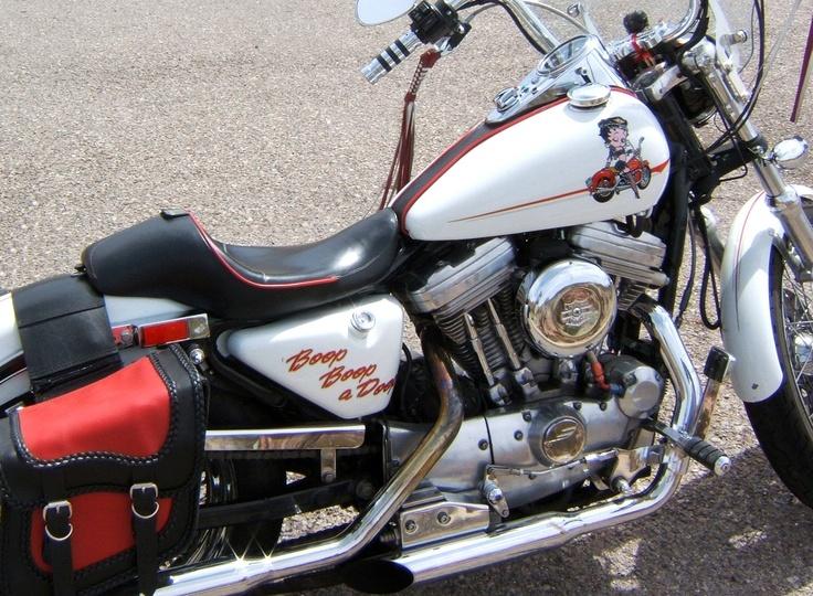 Mary's 1989 Harley Sportster 1200.