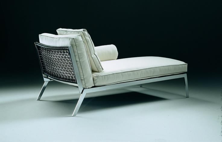 FLEXFORM HAPPY #chaiselongue designed by Antonio Citterio