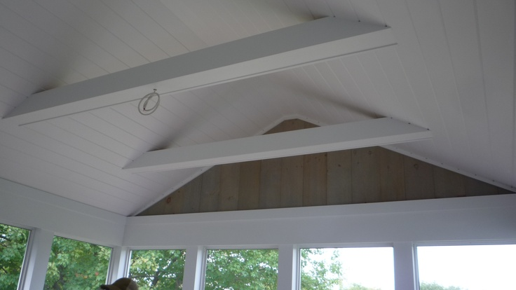 Vaulted Ceiling Collar Tie Requirements Screen Porch