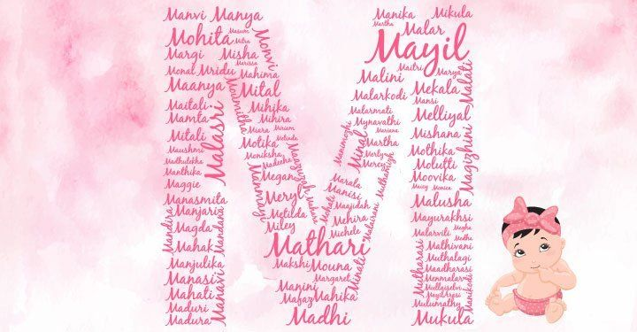 Baby Girl Names Starting With M List Of Girl Baby Names Which Starts With English Alphabet Le Names Of Baby Girl Hindu Girl Baby Names Baby Girl Names Unique