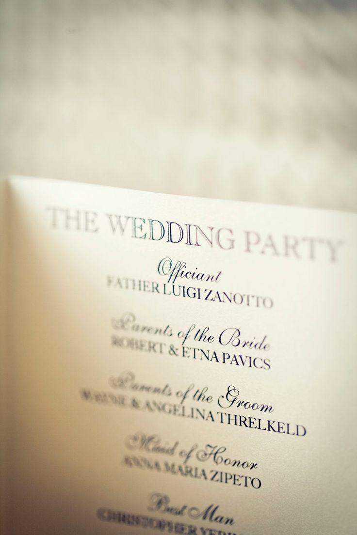 do you invite officiant to wedding reception%0A Your biggest resource will be your officiant who will help you word the  order