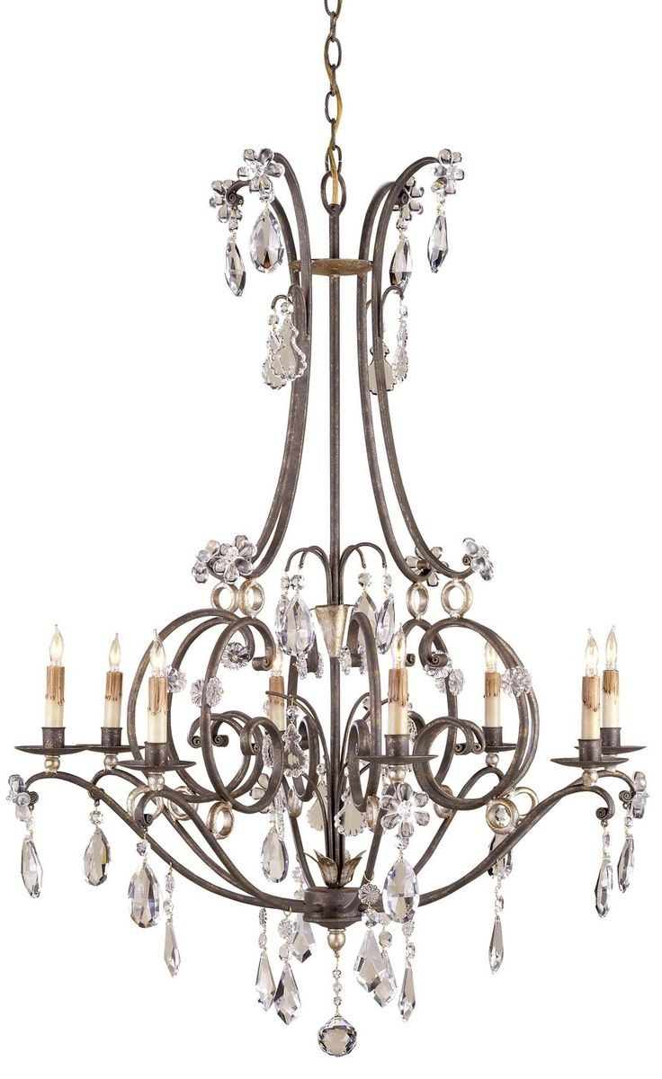 South Shore Decorating: Currey and Company 9550 Mayfair Traditional Chandelier CNC-9550