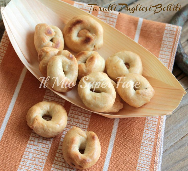 Taralli Pugliesi Boiled I reveal the secret of my blog know-how