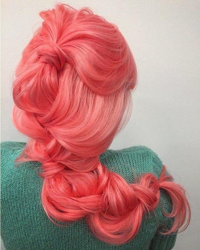 Cotton Candy #hairspiration via @ramsaymarstonhair