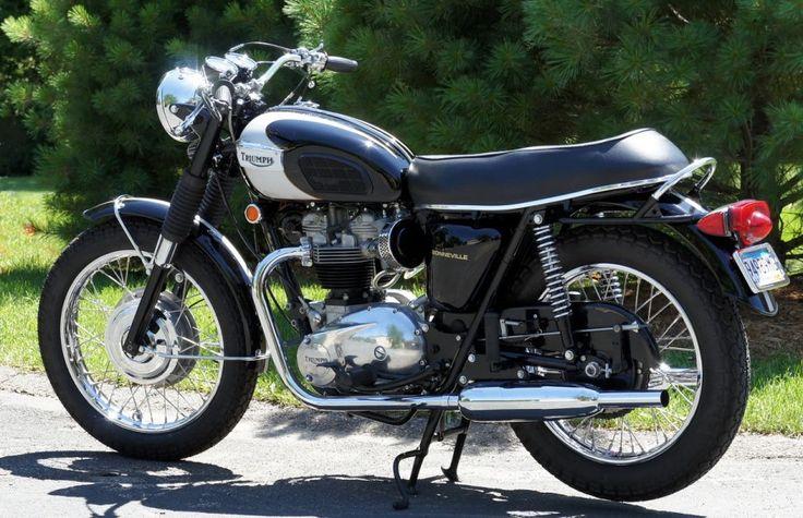 1970 Triumph Bonneville T120R Classic Motorcycle Pictures