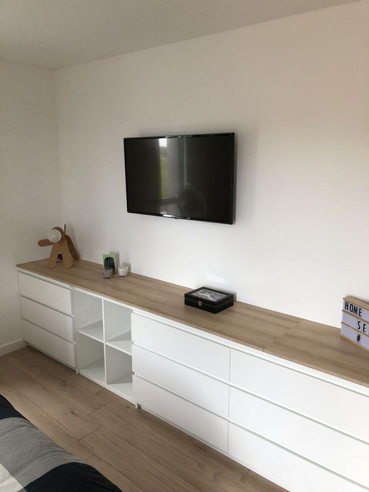 Meuble IKEA Customiss Malm Dtournement Kallax Deturnment Dco En 2019 Meubles Ikea