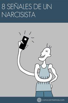 8 señales de un narcisista #autoayuda