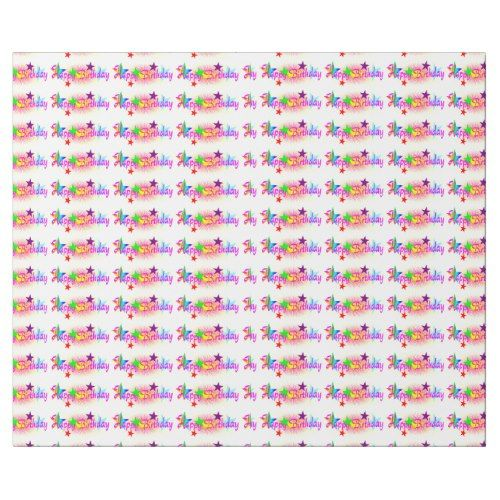 Happy Birthday Wrapping Paper