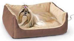 Thermo-Doggy Cuddle Cushion - Heated Dog Bed | CozyWinters